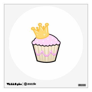Princess Cupcake Wall Sticker