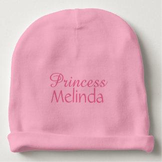 Princess custom name infant hat