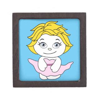 Princess Dancing Cartoon Monroe Jewelry Box