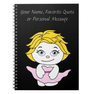 Princess Dancing Cartoon Notebook