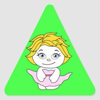 Princess Dancing Cartoon Stickers