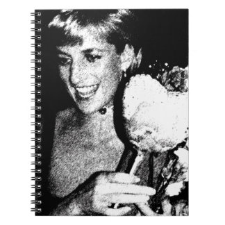 princess Di digital.jpg Notebook
