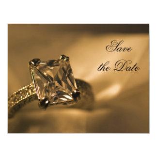 Princess Diamond Save the Date Announcement