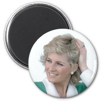 Princess Diana Australia 1988 2 Inch Round Magnet