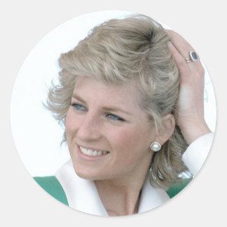 Princess-Diana-Australia Classic Round Sticker