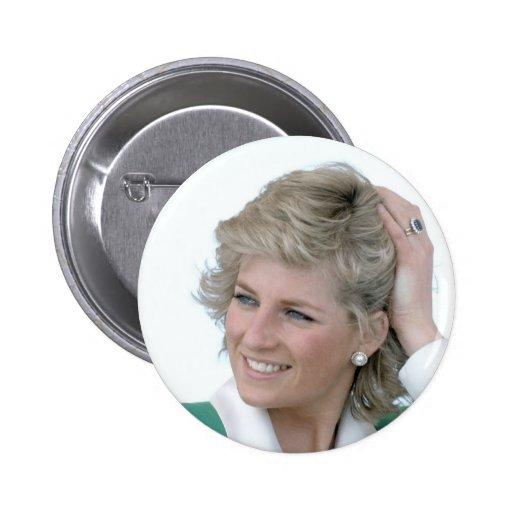 Princess-Diana-Australia Pinback Button