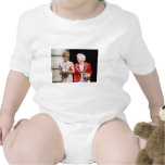 Princess Diana-Barbara Bush Baby Bodysuit