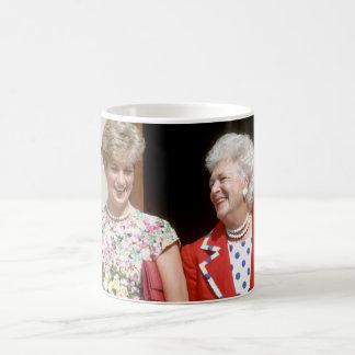 Princess Diana-Barbara Bush Coffee Mug