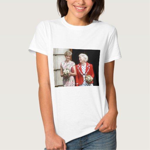 Princess Diana-Barbara Bush T-Shirt