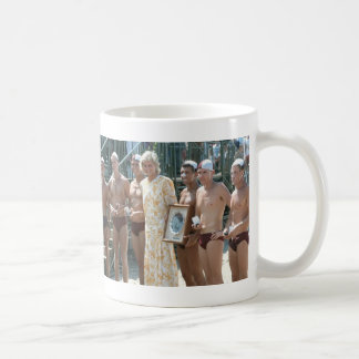 Princess Diana Bondi Beach Australia 1988 Classic White Coffee Mug