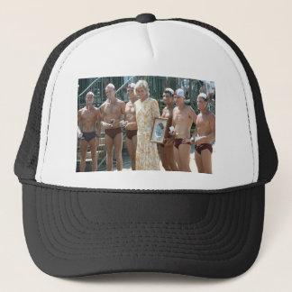 Princess Diana Bondi Beach Australia 1988 Trucker Hat