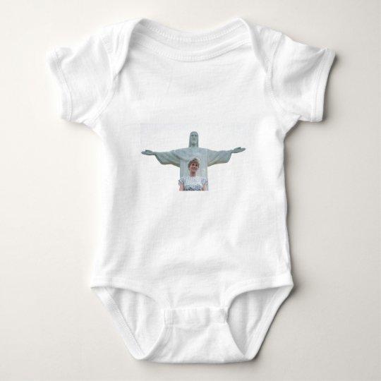 Princess Diana Brazil Baby Bodysuit