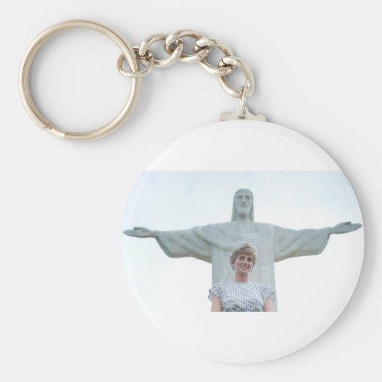 Princess Diana Brazil Keychain