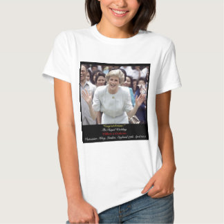 Princess Diana celebrates The Royal Wedding T-shirt