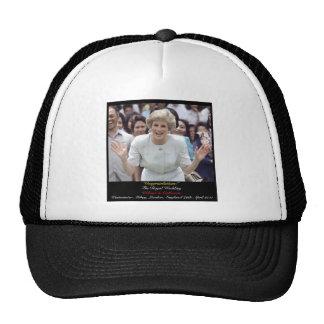 Princess Diana celebrates The Royal Wedding Trucker Hat