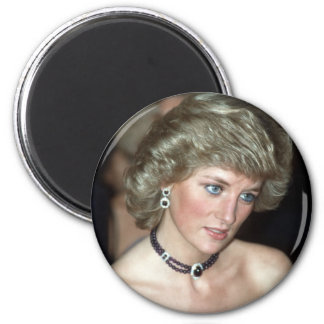 Princess Diana Germany 1987 2 Inch Round Magnet