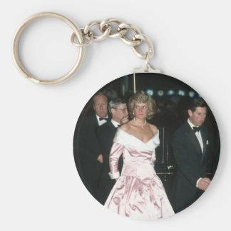 Princess Diana Germany 1987 Keychain