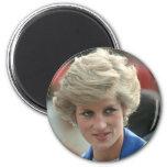 Princess Diana Hong Kong 1989 2 Inch Round Magnet