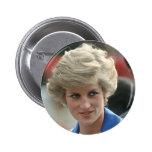 Princess Diana Hong Kong 1989 Buttons