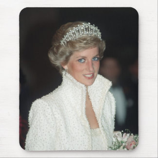 Princess Diana Hong Kong 1989 Mouse Pad
