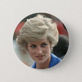 Princess Diana Hong Kong 1989 Pinback Button