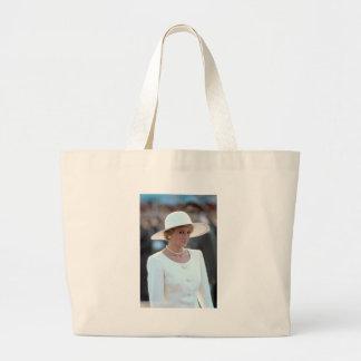 Princess Diana Hungary 1990 Tote Bag