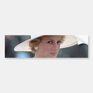 Princess Diana Hungary 1990 Bumper Sticker