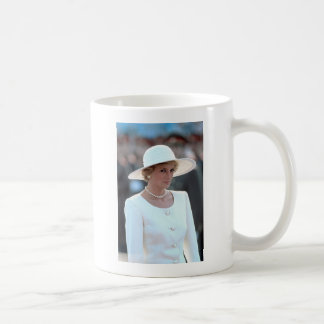 Princess Diana Hungary 1990 Coffee Mug