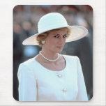 Princess Diana Hungary 1990 Mouse Pad