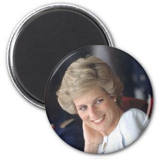 Princess Diana Nigeria 2 Inch Round Magnet