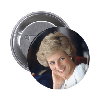Princess Diana Nigeria Pinback Button