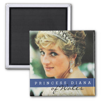 Princess Diana of Wales 2 Inch Square Magnet