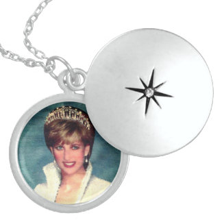 PRINCESS DIANA OF WALES STERLING SILVER NECKLACE