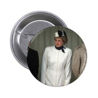 Princess Diana Portugal Button