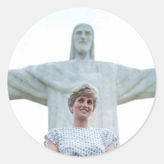 Princess Diana Rio Classic Round Sticker