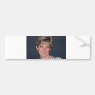 Princess Diana, Rio de Janeiro, Brazil Car Bumper Sticker