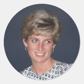 Princess Diana, Rio de Janeiro, Brazil Classic Round Sticker