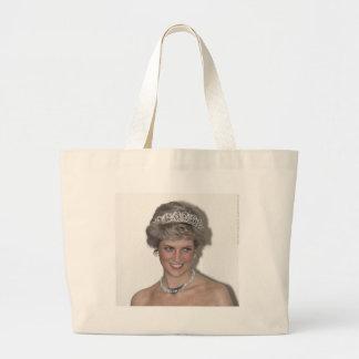 Princess Diana Sparkles in Germany Large Tote Bag