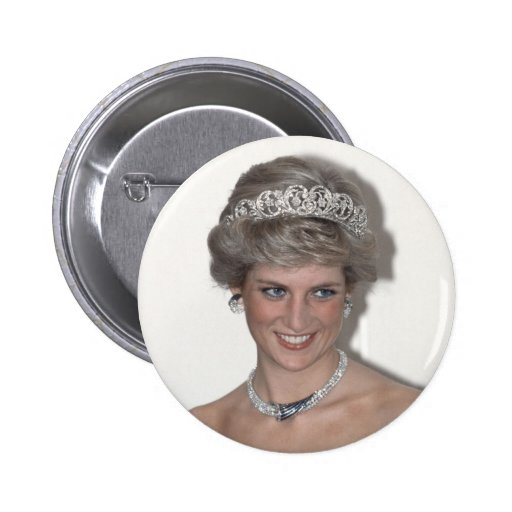 Princess Diana Sparkles in Germany Pins