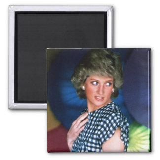 Princess Diana Thailand 2 Inch Square Magnet