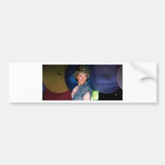 Princess Diana Thailand Car Bumper Sticker