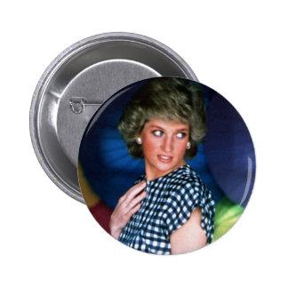 Princess Diana Thailand Button