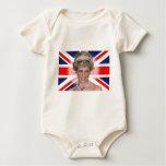 Princess Diana Union Jack Bodysuit