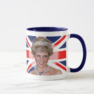 Princess Diana Union Jack Mug