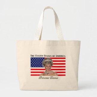 Princess Diana USA Flag Bag