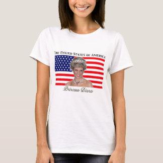 Princess Diana USA Flag T-Shirt