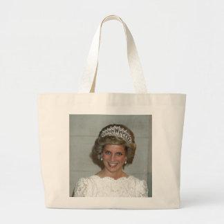 Princess Diana Washington 1985 Large Tote Bag