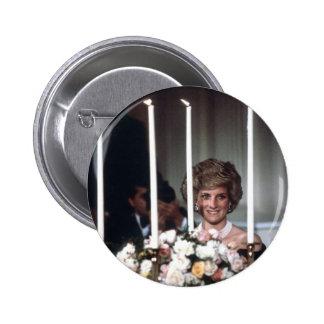Princess Diana Washington 1985 Pinback Button