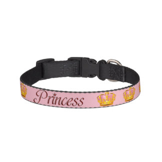 """PRINCESS"" Dog Collar Pink"