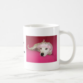 Princess Dog Lucy Classic White Coffee Mug